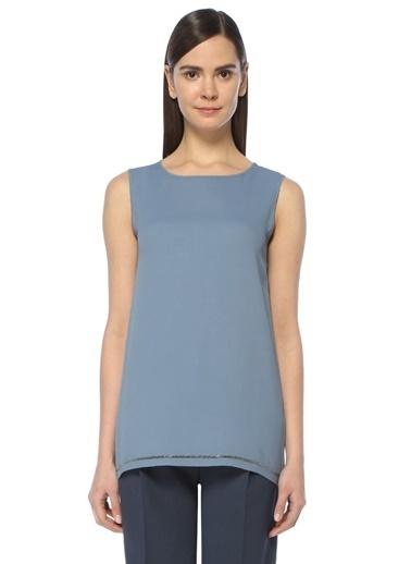 Fabiana Filippi Kolsuz Bluz Mavi